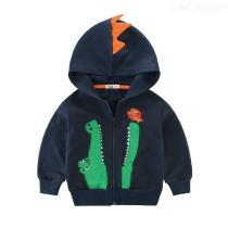 Boys-Hooded-Jacket-Long-Sleeve-Cartoon-Crocodile-Cardigan-Coat-With-Embroidered-Details