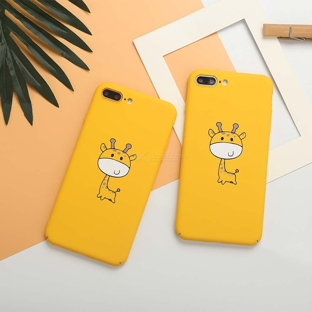 Mobile Phone PC Cartoon Matte Deer Cases For IPHONE 6/6S/7/8/X/XS/XR/XS MAX