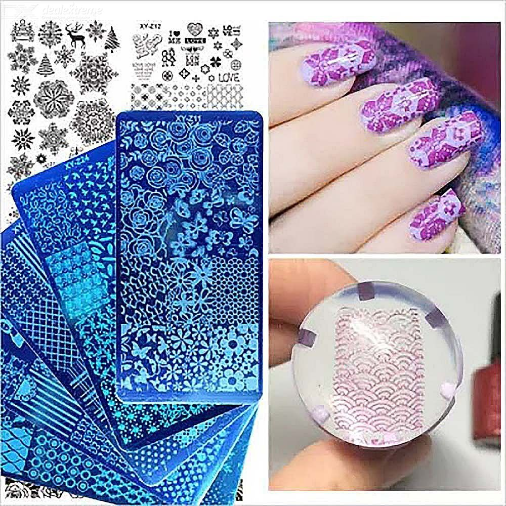 Nail Plate Stainless Steel Nail Image Stamping Template