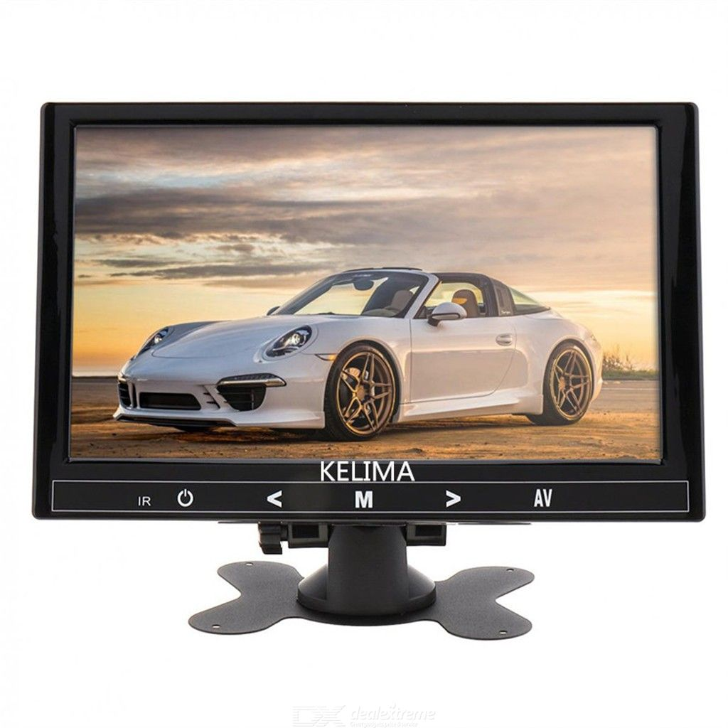 KELIMA9 Inch Wireless Car Monitor + Wireless Infrared Night Vision Bus Reversing Camera Long Antenna HD Resolution Display