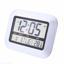 High-Accuracy-Self-Setting-Digital-Home-Office-Decor-Wall-Clock-With-Indoor-Temperature-LCD-Digital-Temperature-Meter