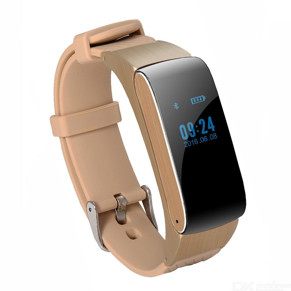 Fitness Tracker Watch Smart Bracelet With Sleep Monitor Exercise Intensity Checking