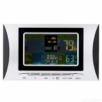Wireless-Weather-Station-Clock-Digital-Thermometer-Barometer-Hygrometer-Color-Display