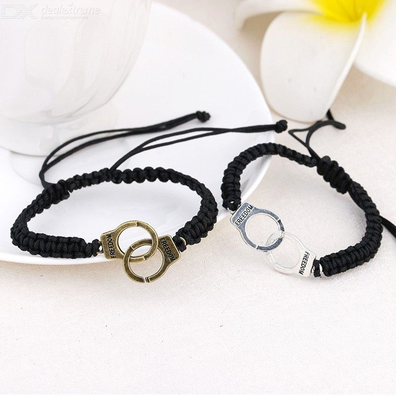 Hand-Knitted Woven Handmade Lucky Rope Bracelet Couples Jewelry