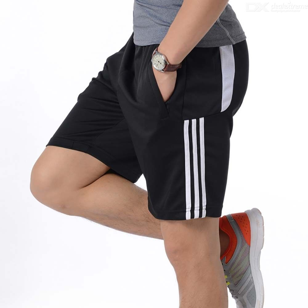 Men Casual Quick-Drying Beach Patchwork Pants Summer Knee Length Shorts