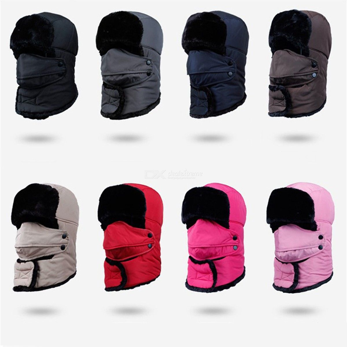 Cycling Hat Outdoor Windproof Cap Men Women Cold Warm Simple Hat