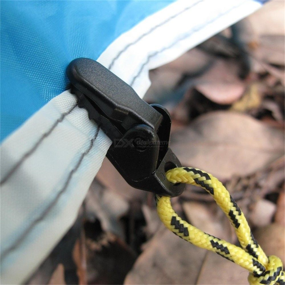 Tents Dot Alligator Clip Pull Additional Outdoor Camping Tent Canopy Wind Pull Hook Fixed Point Clip