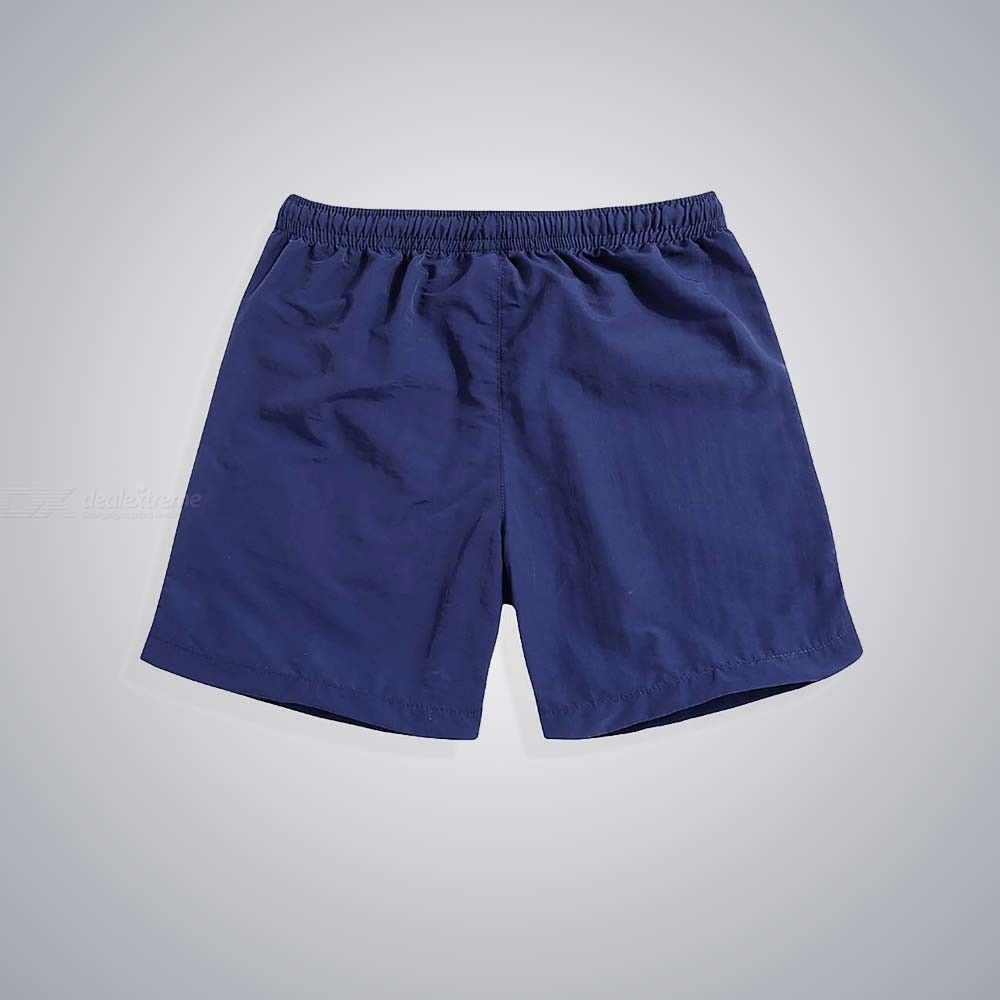 Men's Casual Quick-Drying Beach Pants Summer Surfing Knee Length Shorts