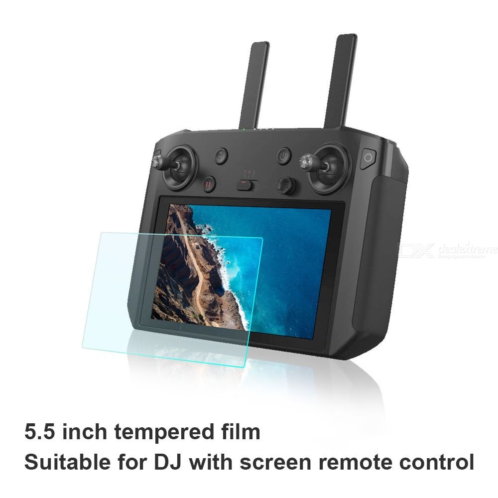 5.5 Inch Controller Film Strengthen Tempered Glass Film For Sunnylife Mavic 2 Zoom Controller