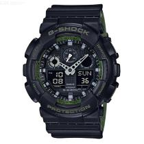 Casio-G-Shock-GA-100L-1A-Analog-Digital-Watch-Black-2b-Green