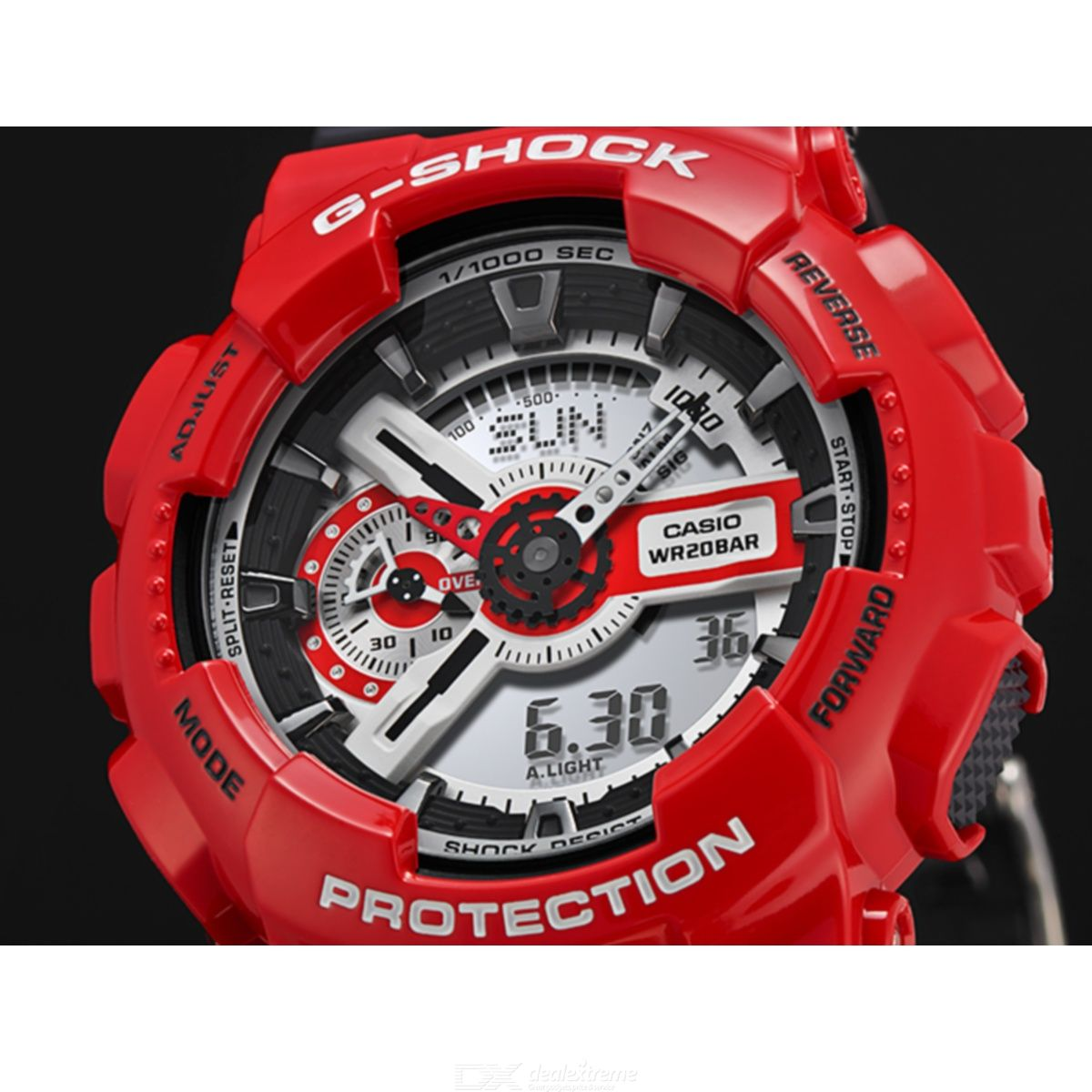 Casio G-Shock GA-110RD-4A Mens Watch - Red and Black