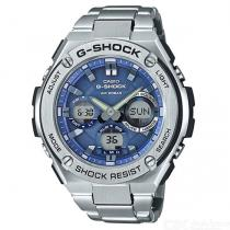 Casio-G-Shock-GST-S110D-2A-Quartz-Resin-and-Stainless-Steel-Casual-Watch-Silver-2b-Blue