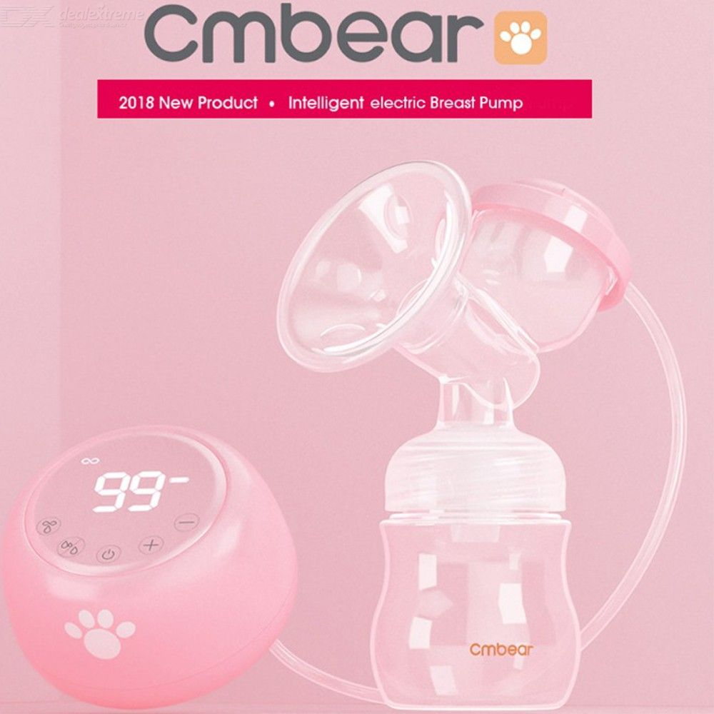 Electric-Breast-Pump-BPA-Free-Powerful-Suction-Baby-Feeding-USB-Breast-Pumps-Multiple-Mode-Adjustment