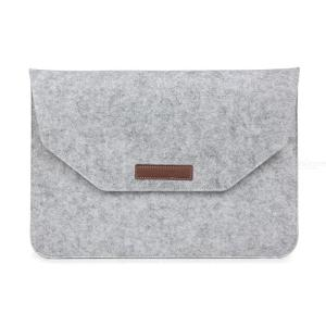 Wool Felt Laptop Bag for Macbook Air Pro Retina 11 12 13 15  inch Touch Bar Sleeve Mouse Charge Cable Bag