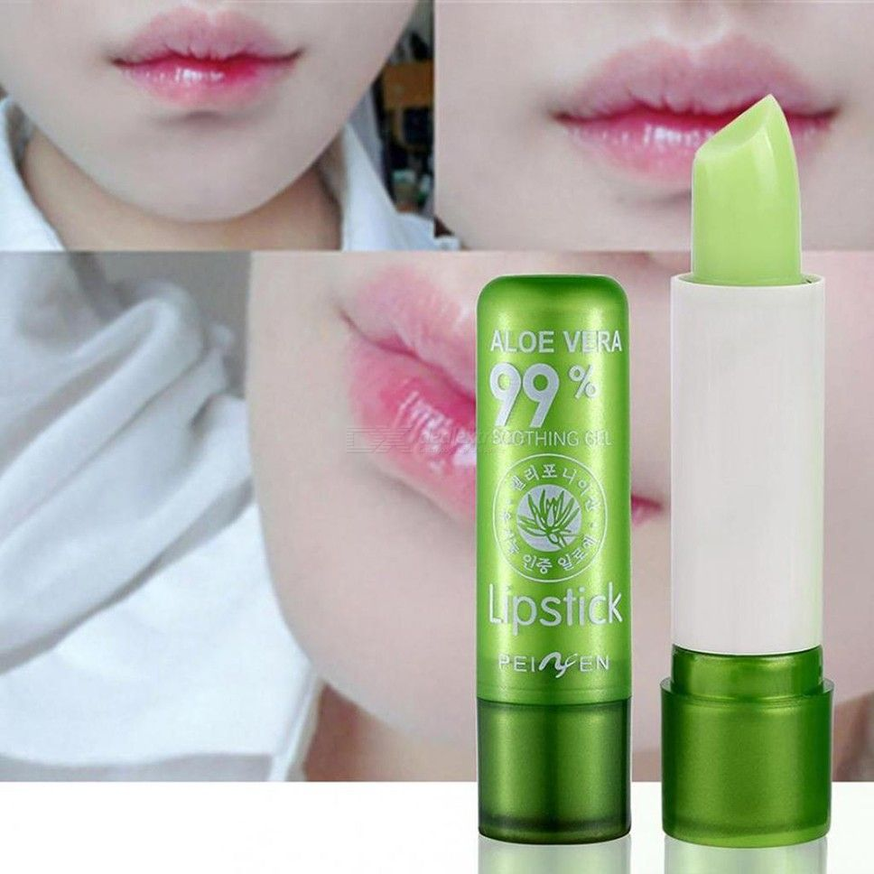 Natural Aloe Lip Balm Soothe Moisturize Heal Protect Lips