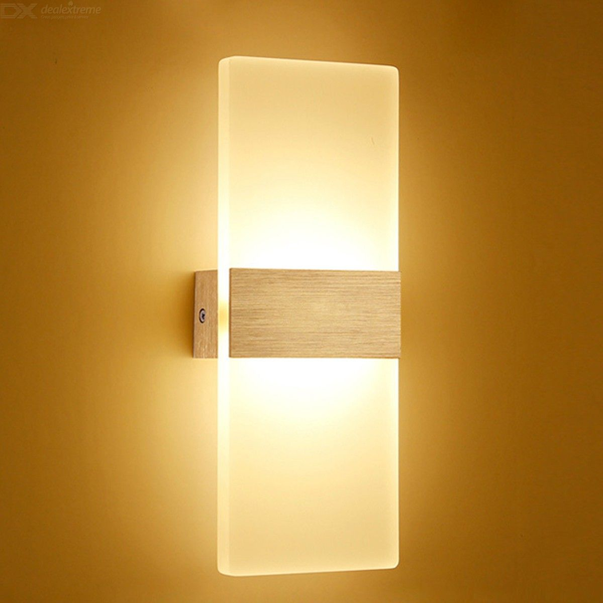 Modern Wall Sconce 12W Aluminum Wall Mounted Light For Pathway Porch Hallway