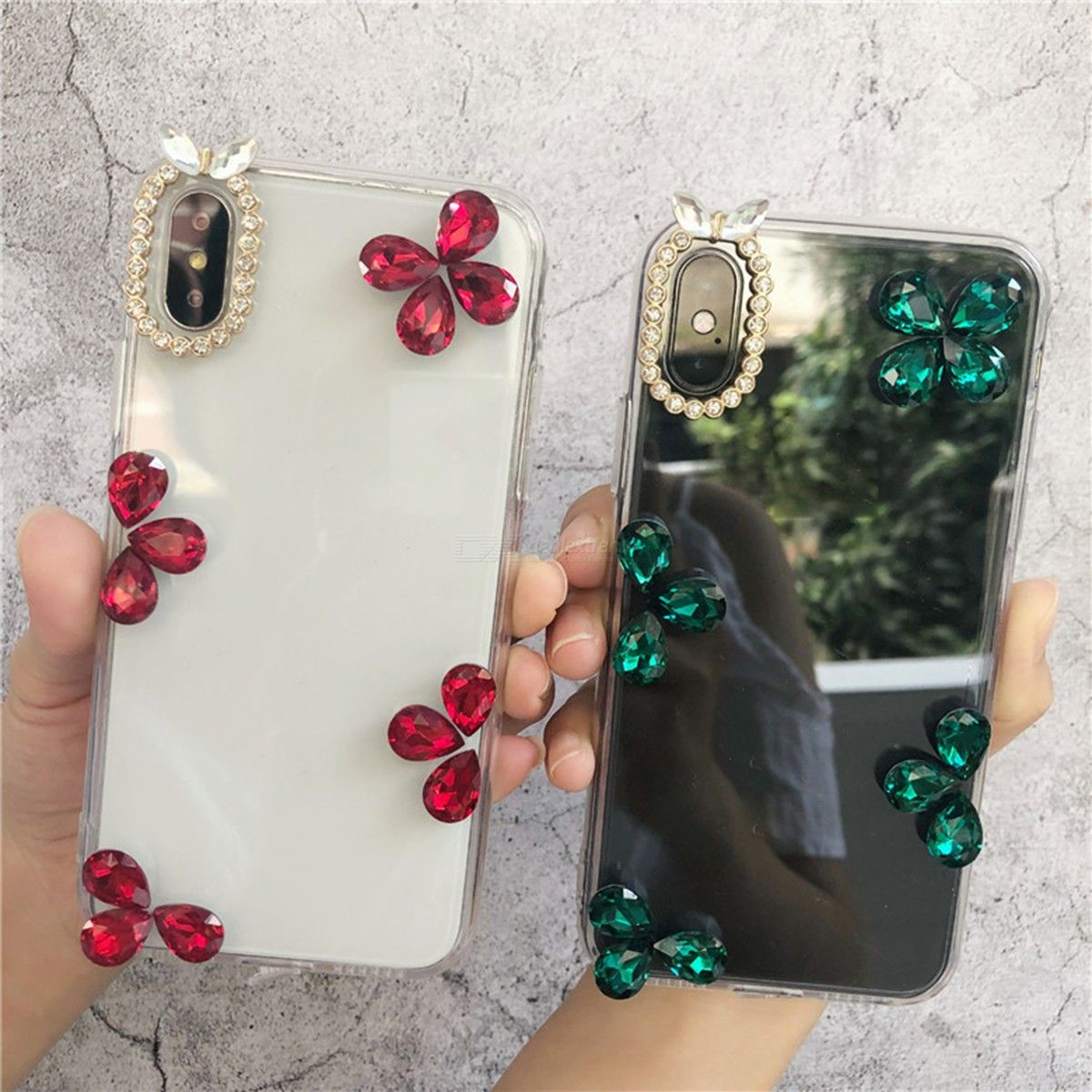 Glitter Cellphone Case Luxury Rhinestone Phone Cover For IPHONE