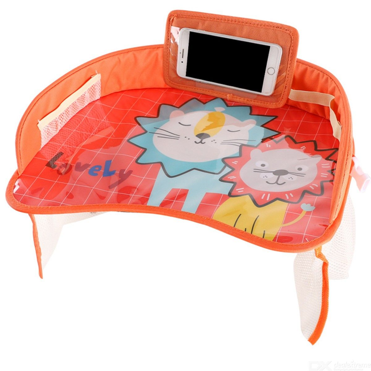 Kids Travel Tray Cartoon Back Seat Activity Play Table For Toddler