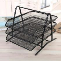 3-Tier-Metal-File-Tray-A4-Paper-Document-Holder-Iron-Mesh-Desk-Organizer-Office-Supplies-Black