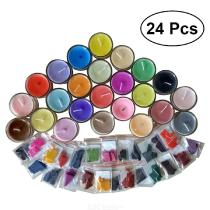24 Colors Wax Dye Kit Scented Soy Dye For DIY Candle Making