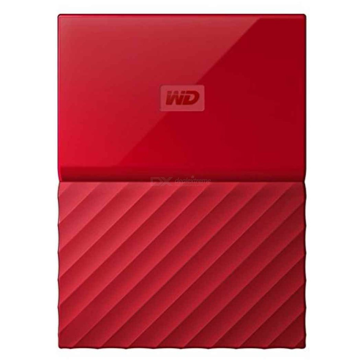 WD My Passport 1TB 2.5quot External Drive USB3.0 WDBYNN0010BRD - Red