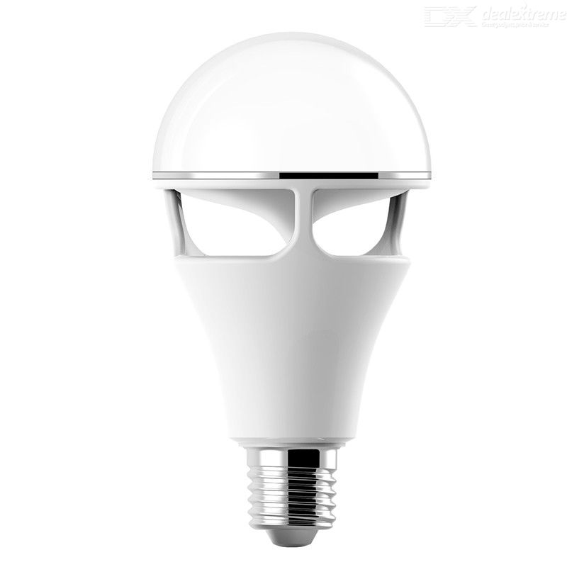 LED Light Bulb With Bluetooth Speaker 10W Color Changing Lamp