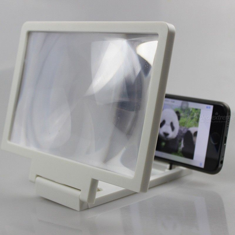 3D Phone Screen Magnifier Universal UV Proof Display Amplifying Kit 7 Inch