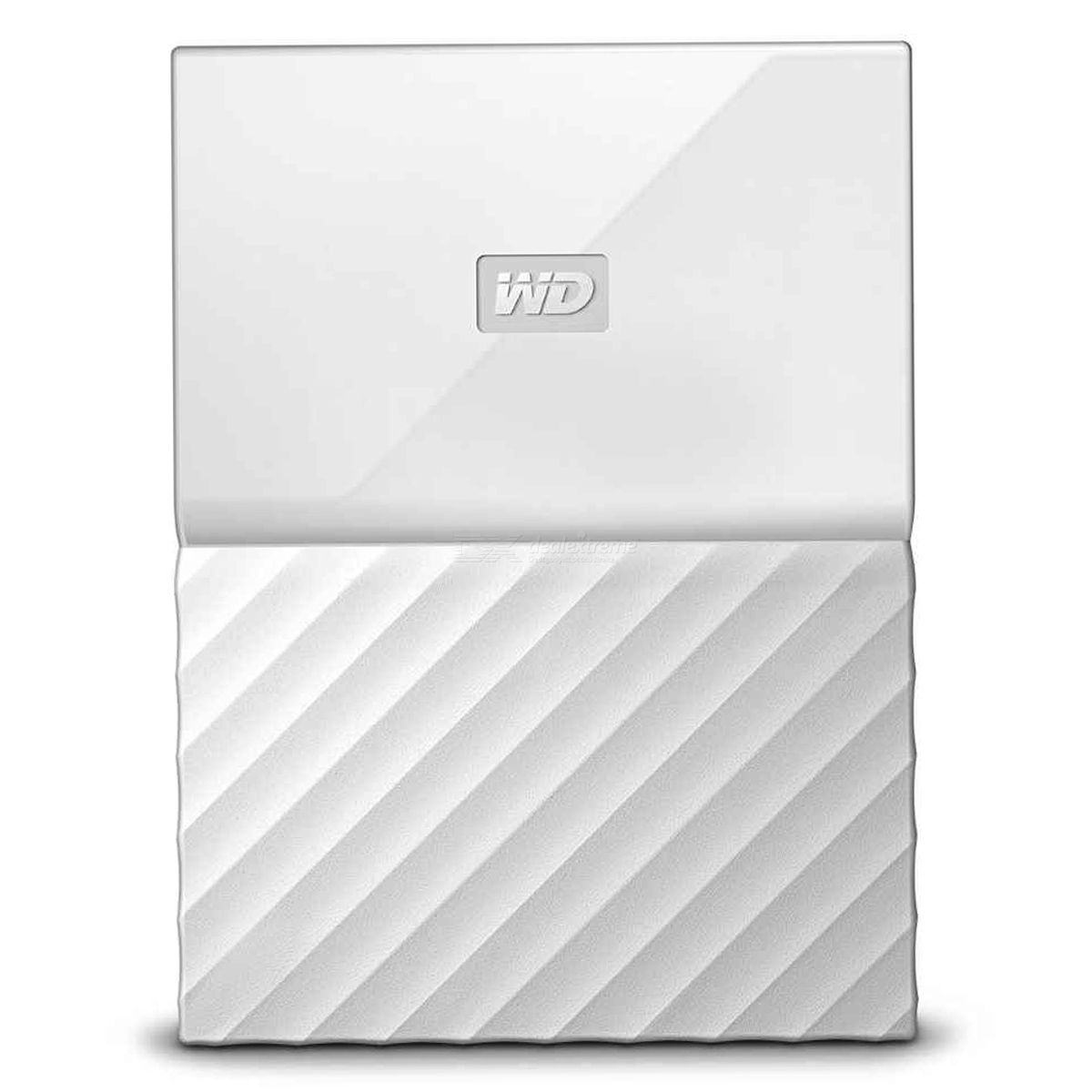 WD My Passport 1TB 2.5quot External Drive USB3.0 WDBYNN0010BWT - White