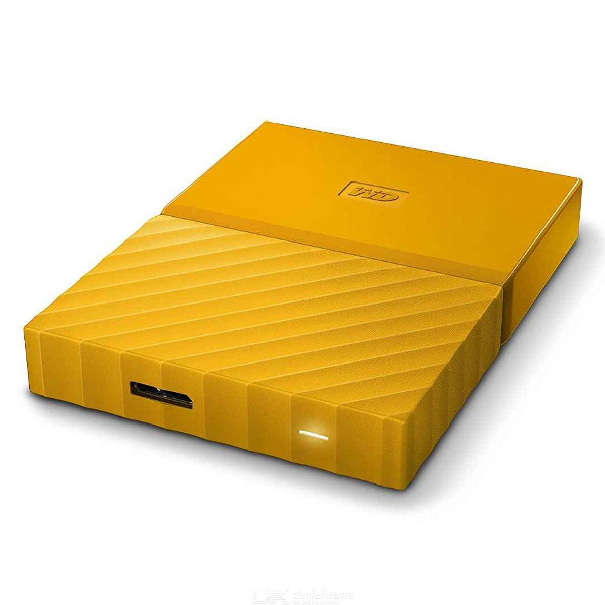 WD My Passport 1TB 2.5quot External Drive USB3.0 WDBYNN0010BYL - Yellow