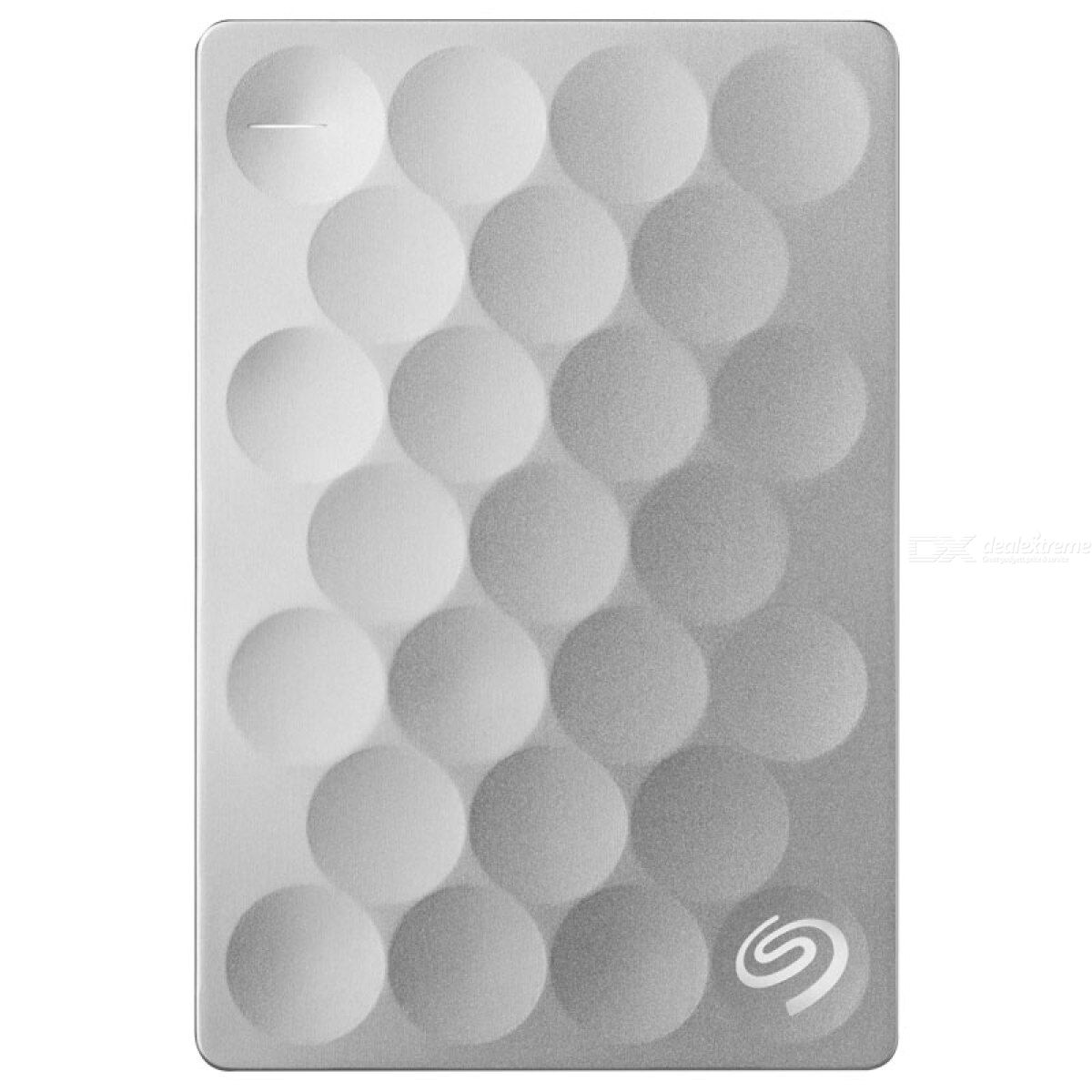 Seagate STEH2000300 Backup Plus 2.5quot Ultra Slim 2TB HDD Hard Disk Drive (Sliver)