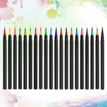 20-Colors-Watercolor-Markers-Set-Soft-Tip-Painting-Brush-Pens-Art-Supplies