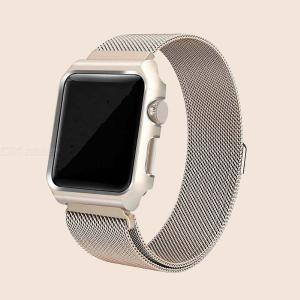 Loop Strap For Apple Watch 4 Band 42mm 38mm Iwatch Stainless Steel Wrist Bracelet Belt Accessories