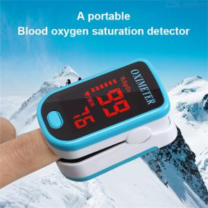 Fingertip Pulse Oximeter Blood Oxygen Saturation Moniter With LED Display