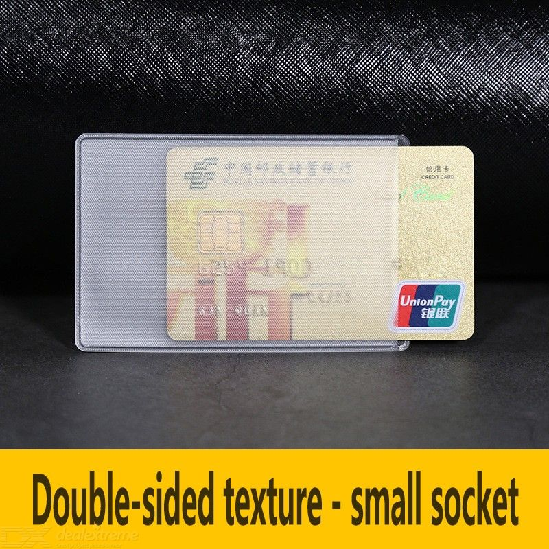 100PCS Transparent Card Covers Matte Card Sleeves 6 X 9.3cm