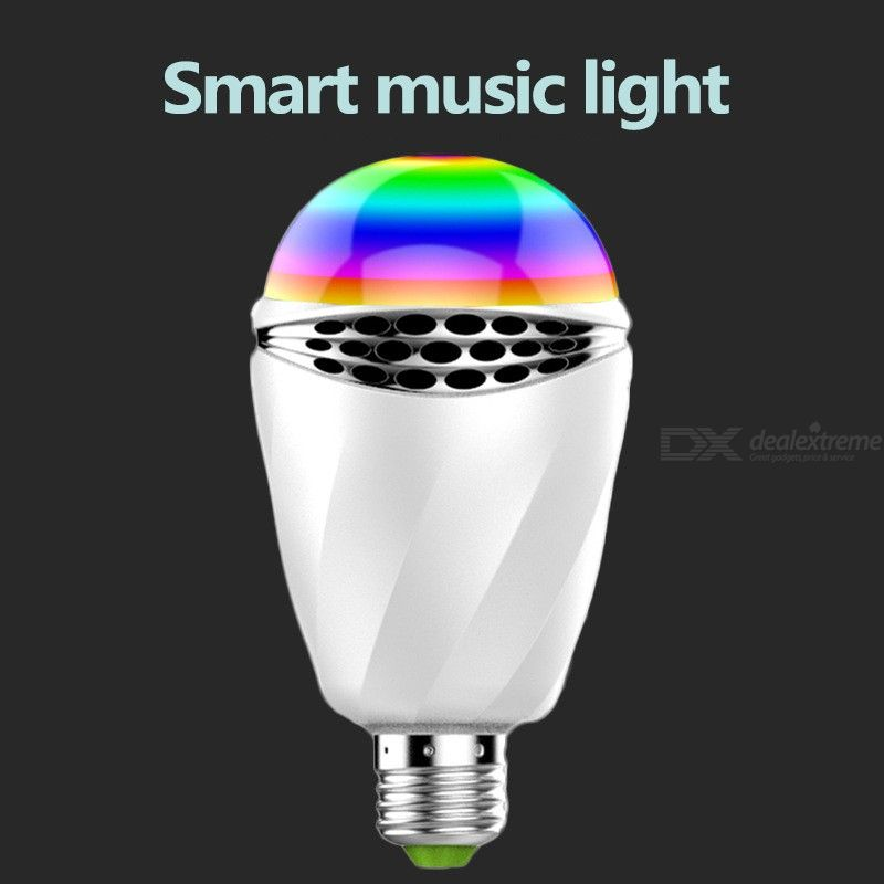 Bluetooth Light Bulb Smart LED Music Light With Remote Control