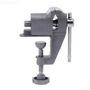 Universal Mini Bench Vise Table Screw Vise Aluminium Alloy 30mm Bench Clamp For DIY Craft Mold Fixed Repair Tool