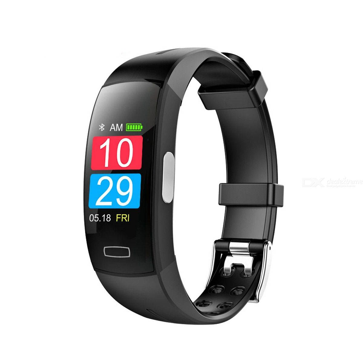 Fitness Tracker Watch Blood Pressure Band Heart Rate Monitor PPG ECG Smart Bracelet