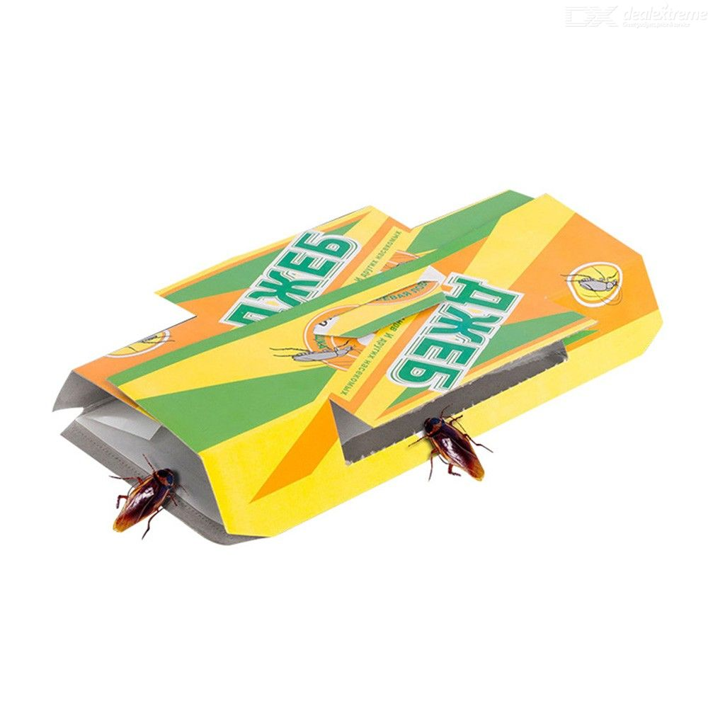 10PCS Cockroaches Glue Trap Sticky Board For Ants Spider Scorpions