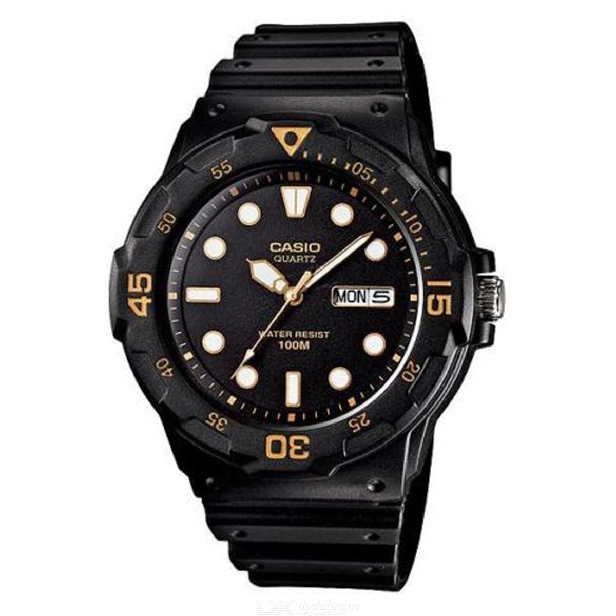 CASIO MRW-200H-1EVDF Resin Analog Watch - Black (Without Box)