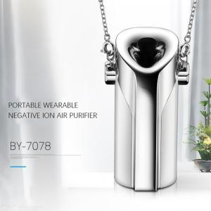 Portable Wearable Air Purifier Ionizer Mini USB Negative Ion Generator Anion PM2.5 Air Cleaner Air Disinfectant