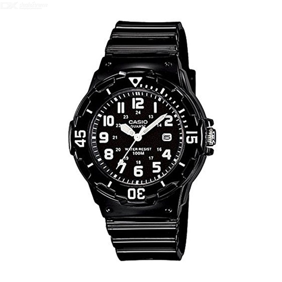 Casio LRW-200H-1B Sports Wrist Watch - Black (Without Box)
