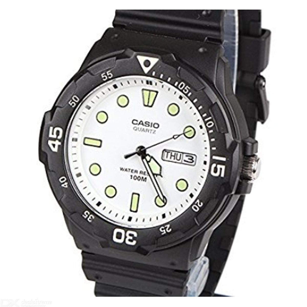 CASIO MRW-200H-7EVDF Analog Watch - Black/White (Without Box)