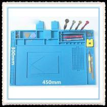 Soldering-Silicone-Mat-Heat-Insulation-Desk-Pad-Phone-Computer-Repair-Tools-Blue-(30-X-45cm)
