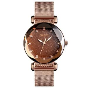 SKMEI Fashion Quartz Wristwatches Luxury Stars Sky Women Bracelet 9188