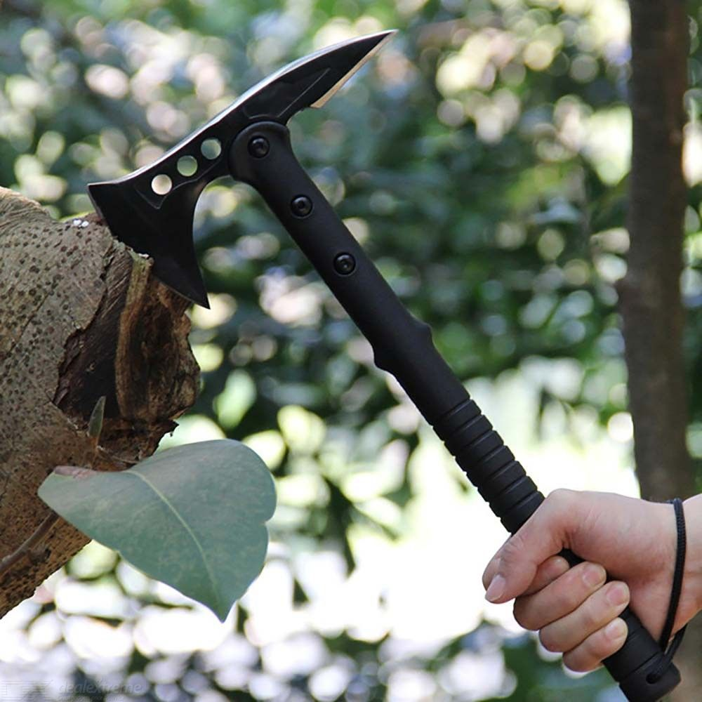 Tactical-Hatchet-Throwing-Tomahawk-95cm-Blade-34cm-Handle-WNylon-Case