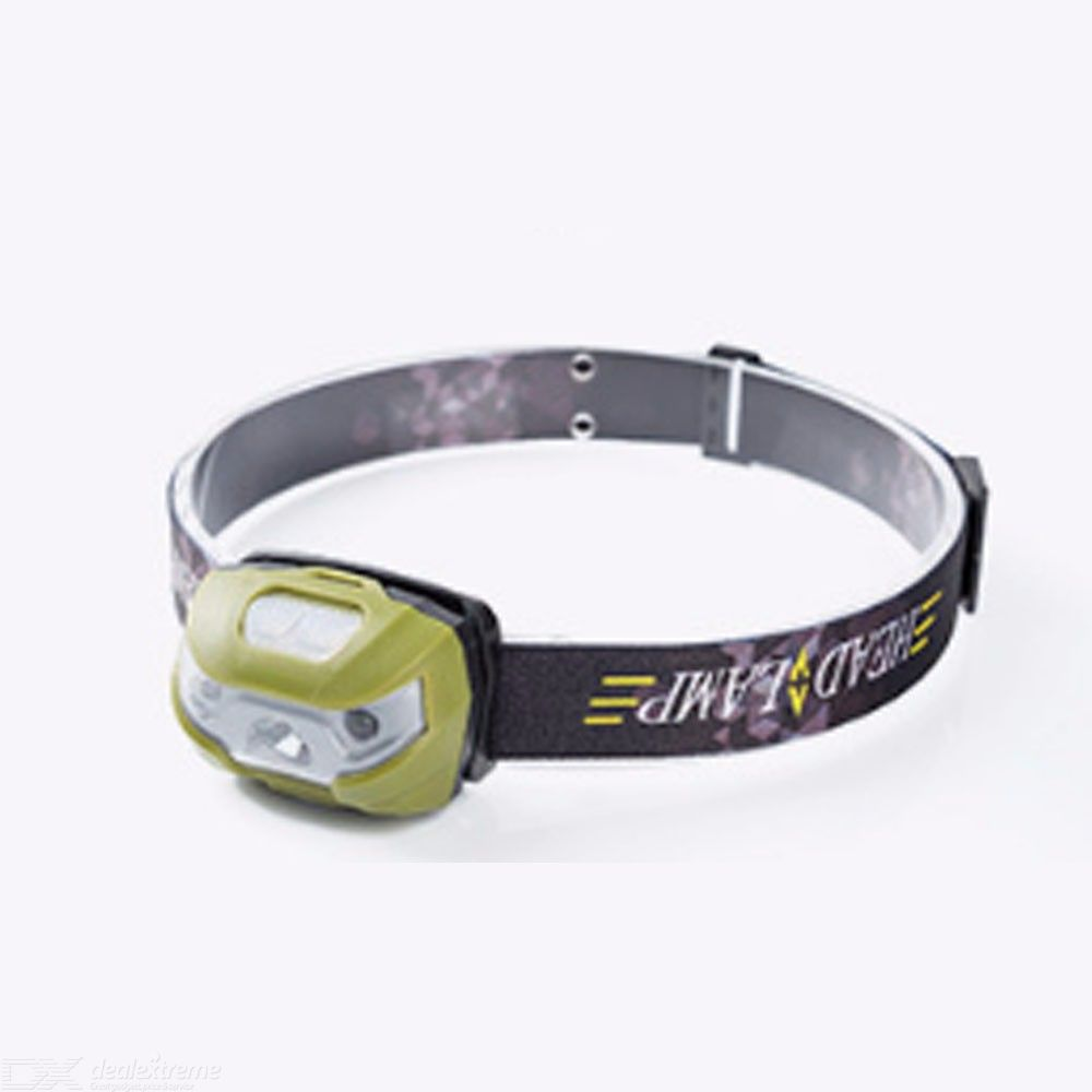 Waterproof LED Head Lamp 10W Outdoor Super Bright Headlight With 3 Lighting Modes