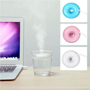Mini Portable Donuts USB Air Humidifier Purifier Aroma Diffuser Steam Natural Disinfectant For Home