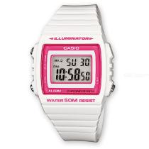 CASIO-W-215H-7A2VDF-Mens-Wristwatch-White-2b-Pink-(Without-Box)