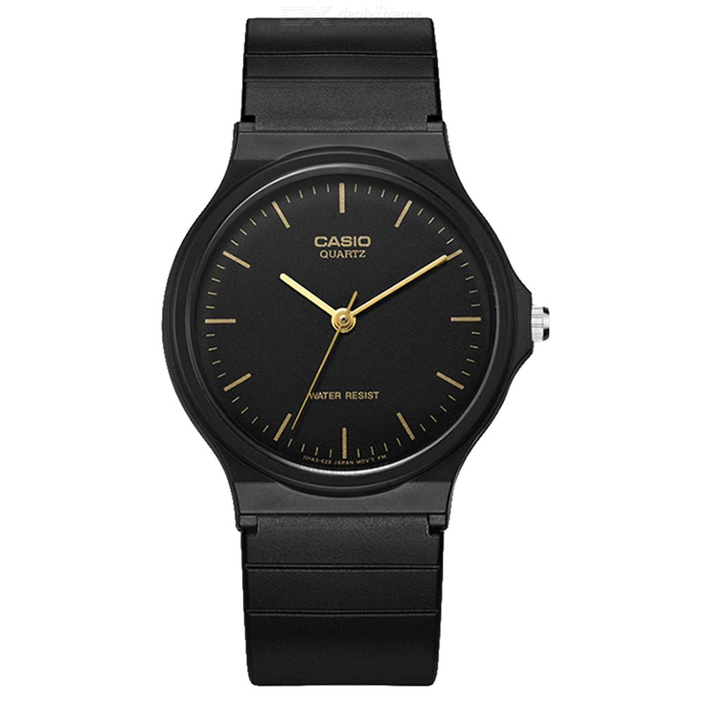 Casio MQ-24-1E Analog Resin Strap Watch - Black (Without Box)