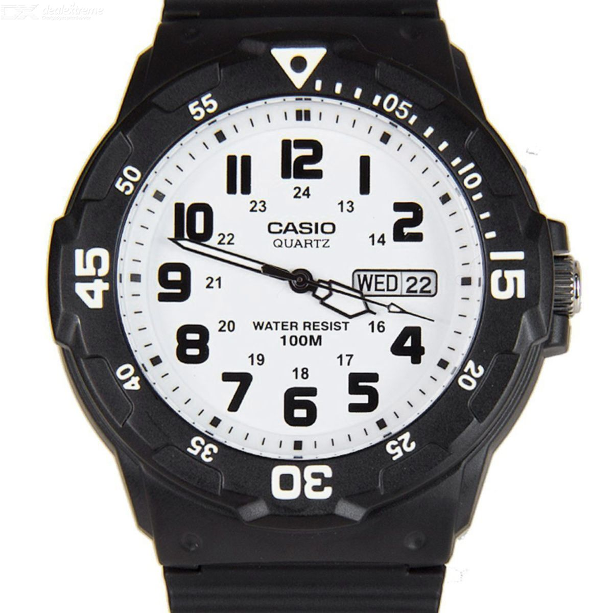 CASIO MRW-200H-7BVDF Men's Analog Watch - Black + White (Without Box)